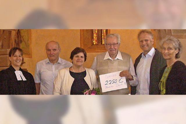 2250 Euro für die Riedlinger Orgel