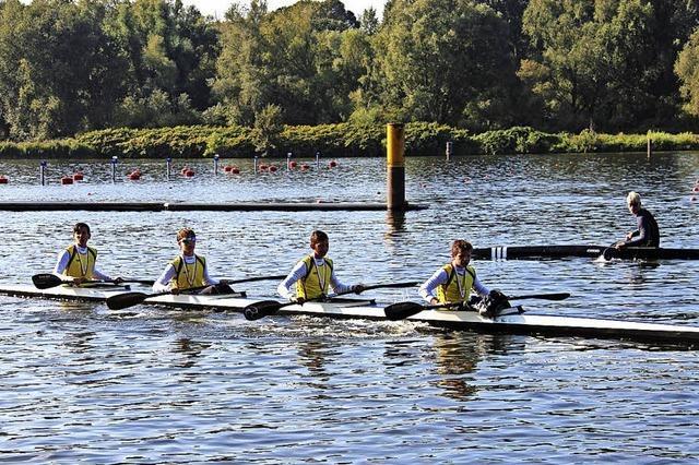Wehrer Kanuten holen Bronze bei deutscher Meisterschaft