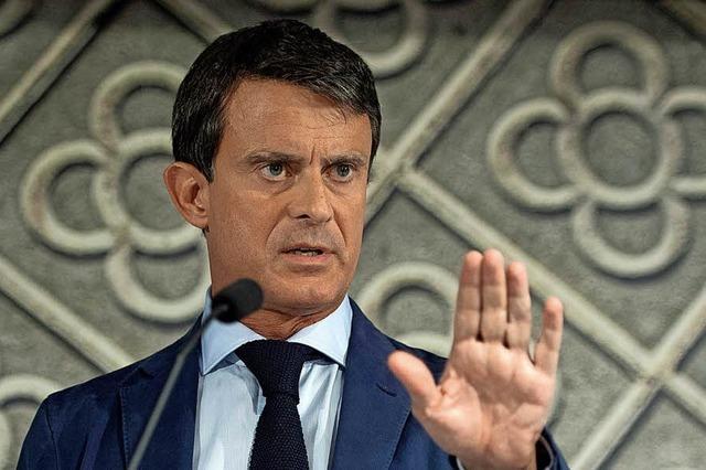 Frankreichs früherer Premier will Barcelonas Bürgermeister werden