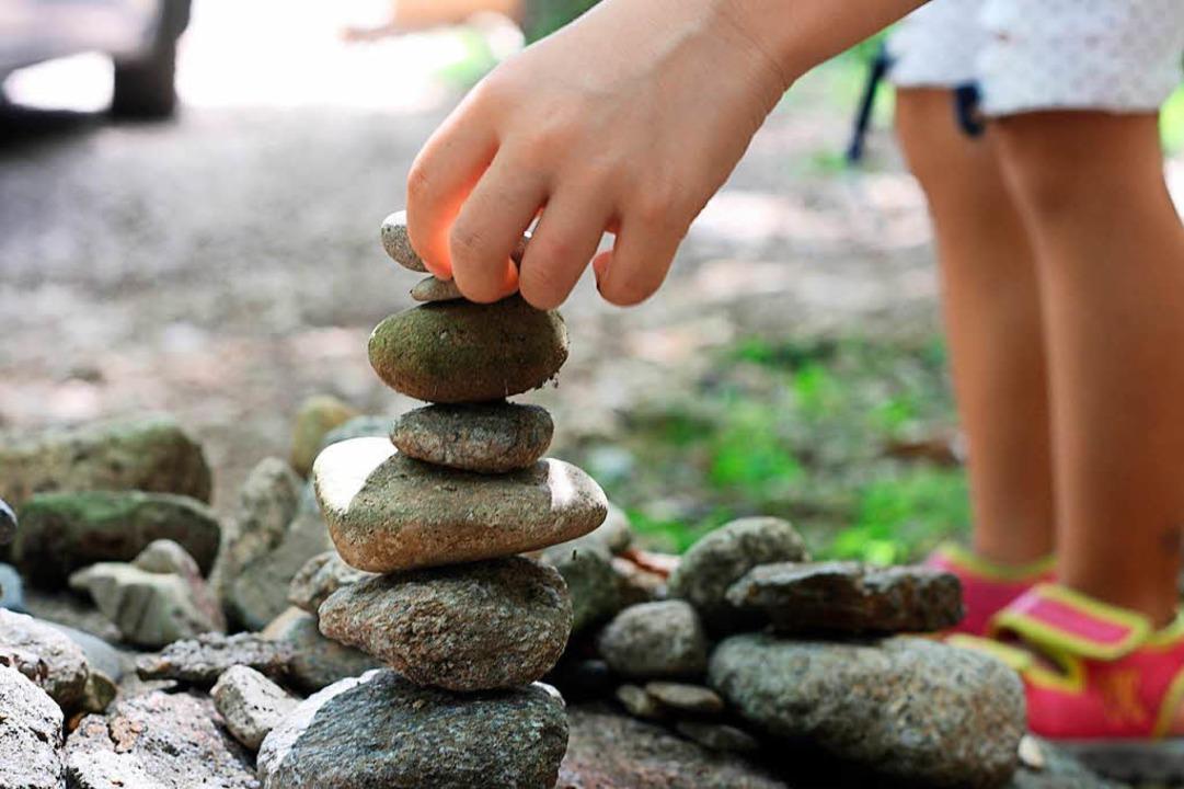 """Das Projekt """"Kisel Leuchtturm&#8... Kinder zwischen sechs und elf Jahren.    Foto: Daniel Gramespacher"""