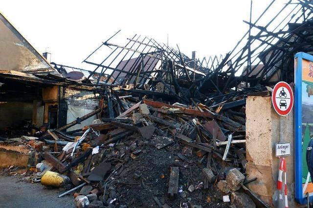 Kripo ermittelt weiter nach Teninger Brand