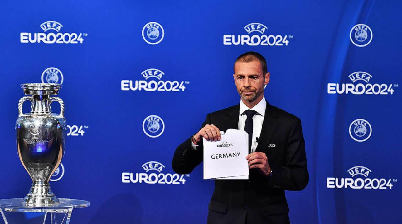 Deutschland richtet die EM 2024 aus.  | Foto: AFP