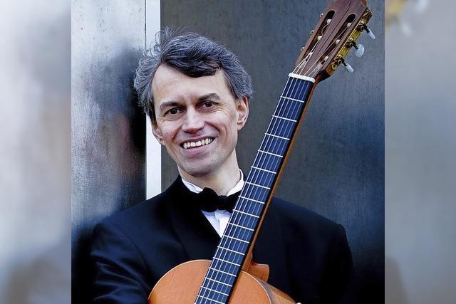 Gitarrist Siegbert Remberger gibt am Sonntag, 30. September, Konzert im Schlössle in Laufenburg