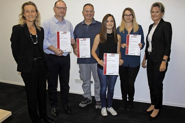 So sollen Pflegelotsen bei Franke Foodservice ihre Kollegen unterstützen