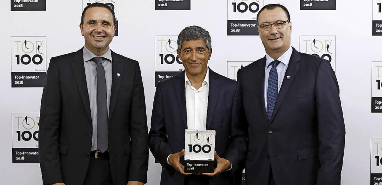 Erfolg bei TOP 100: Aebi Schmidt Deuts...ehört zu den Innovationsführern 2018.     Foto: Aebi Schmidt