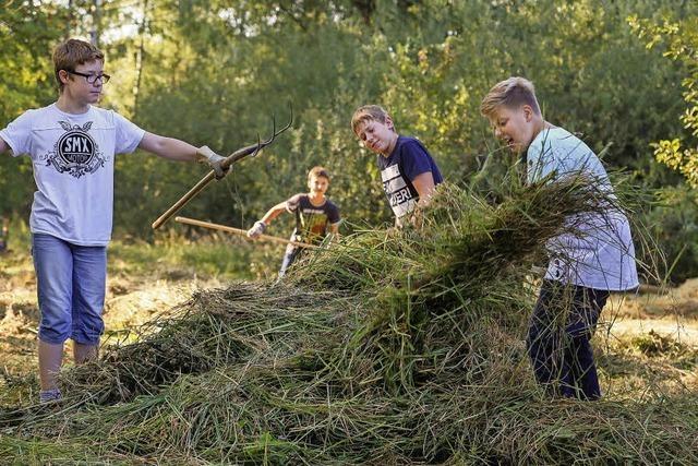 Naturpflege macht Schule