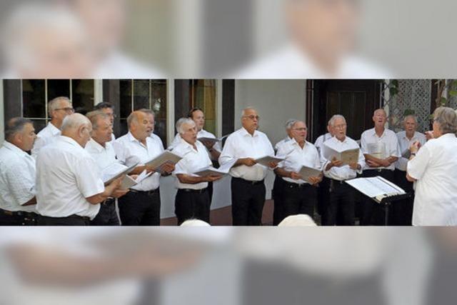 Kanderner Chören gehen Sänger und Sängerinnen aus