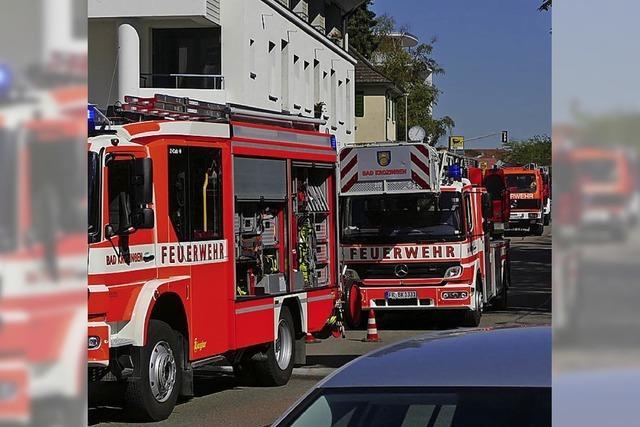 Feuerwehreinsatz in einer Tiefgarage in Bad Krozingen