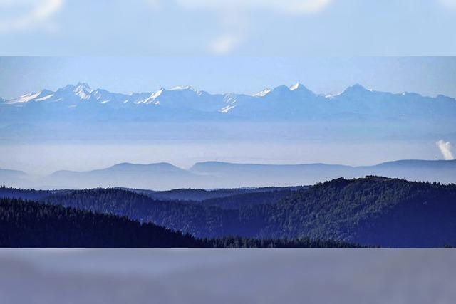 Die Alpen – zum Greifen nah