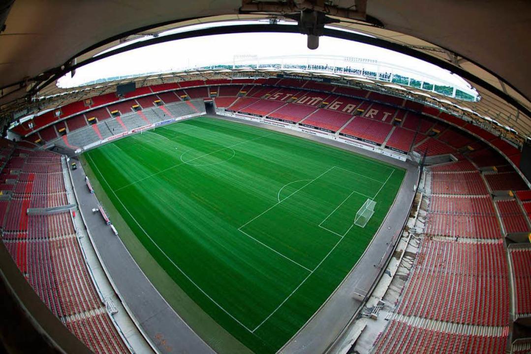 Auch in Stuttgart soll bei der EM 2024 gespielt werden.  | Foto: dpa