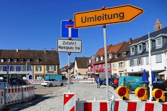 Umgestaltung der Breisacher Innenstadt kostet rund 8,9 Millionen Euro