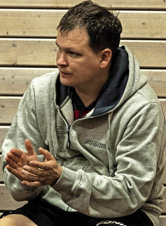 1844-Trainer Konstantin Chepkasov ist ...spielstarken Zuwachs bekommen haben.    | Foto: Patrick Seeger