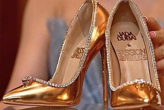 Juwelier bietet Schuhe für 17 Millionen Dollar an