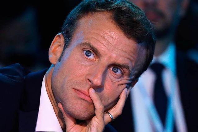Der Stern von Macron ist am Sinken