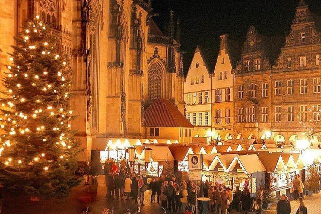 Genießen Sie die Adventsstimmung in Münster bei einer BZ-Leserreise!