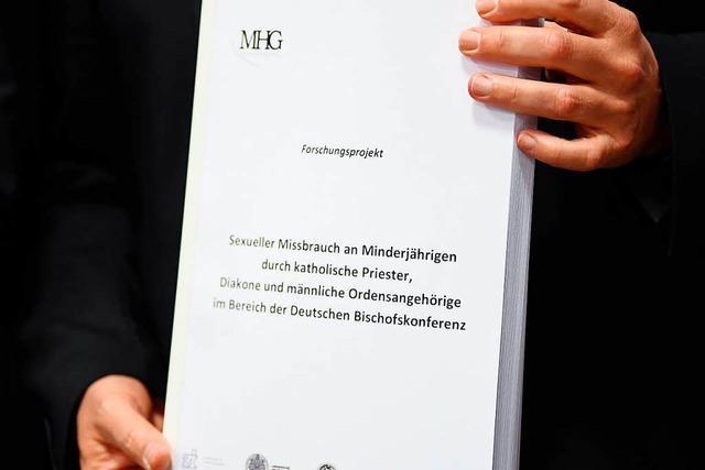 Brisante Details aus der Missbrauchsstudie der Deutschen Bischofskonferenz