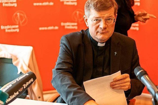 Video: Erzbischof Burger über Lehren aus der Missbrauchstudie und den Zölibat