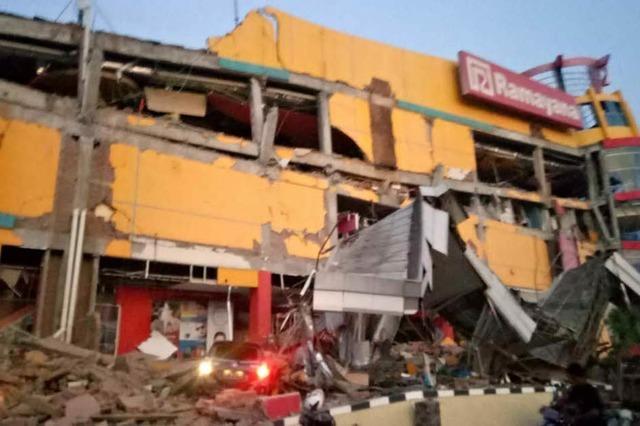 Medien: Tsunami trifft indonesische Stadt nach schweren Erdbeben