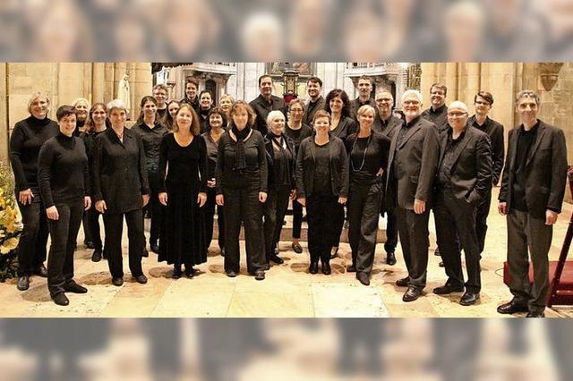 Vocalconsort Bad Säckingen gibt am Sonntag, 30. September, Konzert in der Kirche St. Martin in Wehr