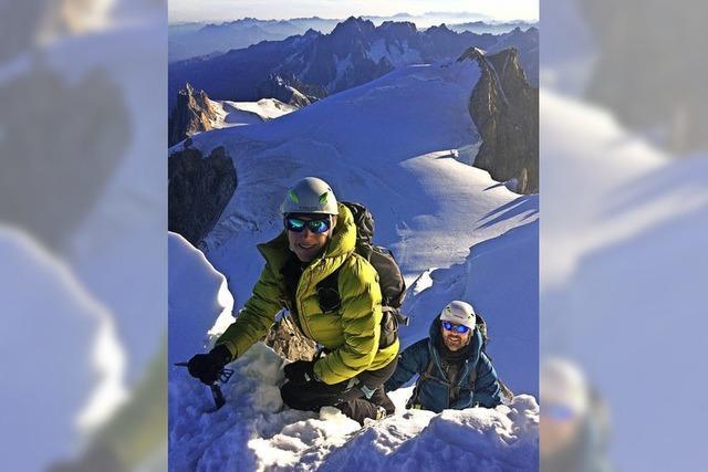 Zackig rauf auf den Berg