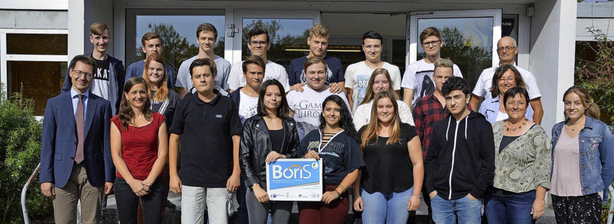 <BZ-FotoAnlauf>Gute Vorbereitung </BZ-...erhielt dafür jetzt das Boris-Siegel.   | Foto: Schule