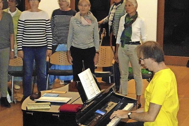 Der Kammerchor feiert mit Haydn