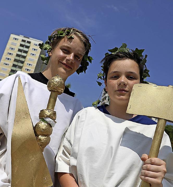 Junge Römer  | Foto: christoph breithaupt