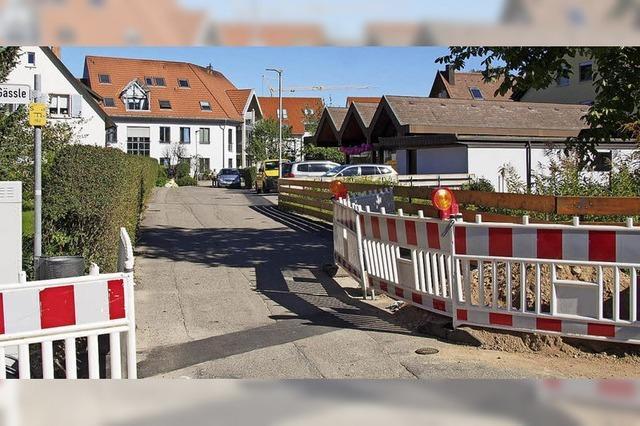 Die Schulhausstraße wird im nächsten Jahr erneuert