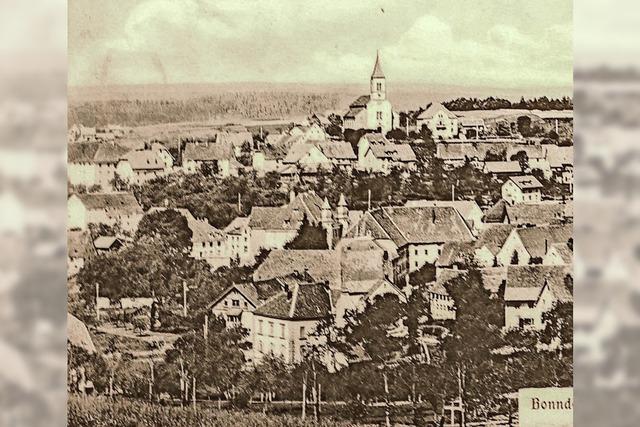 Bonndorf im Zeitraffer