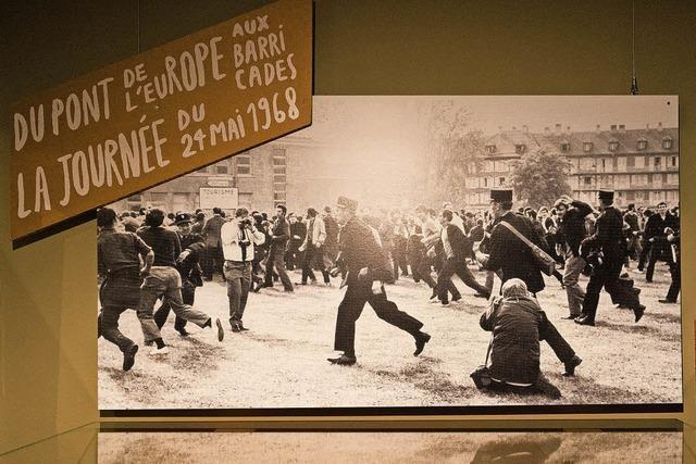 1968: Kampf auf der Europabrücke