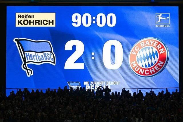 Auch der FC Bayern kann verlieren