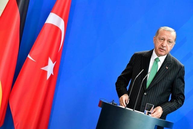 Liveblog: Recep Tayyip Erdogan auf Staatsbesuch in Deutschland