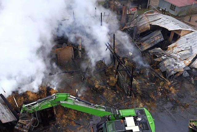 Erst Hüsingen, dann Hausen: Darum brennen Ställe auf Bauernhöfen häufig
