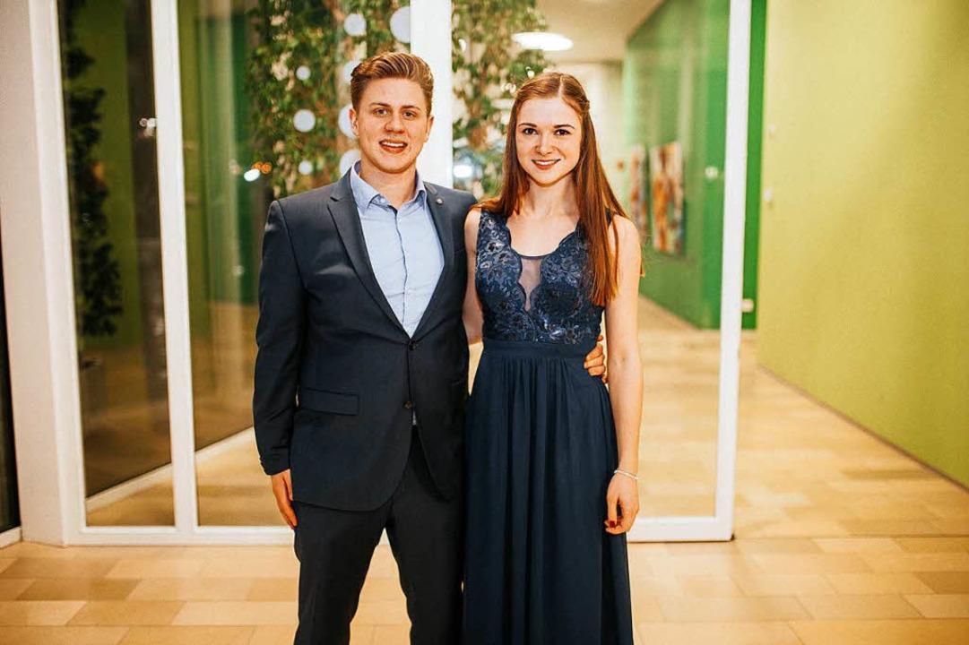 Pierre Eilenhaupt und  Svenja Marx, beide 23, führen den Hirschen.  | Foto: Privat