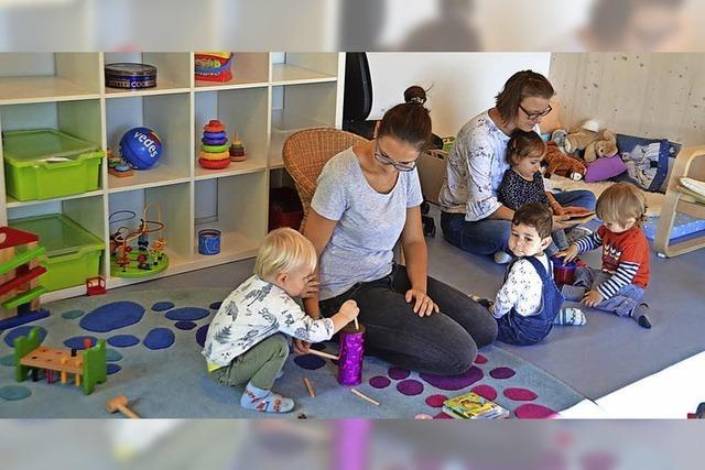 Spiel und Spaß in neuen Räumen