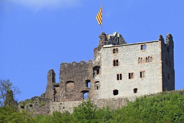Die Burg war das Schloss