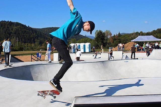 So gut kommt der neue Skaterpark in Schopfheim an