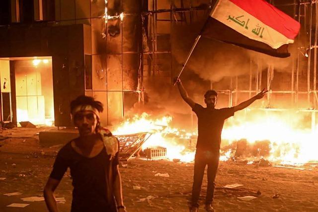 USA schließen ihr Konsulat in Basra