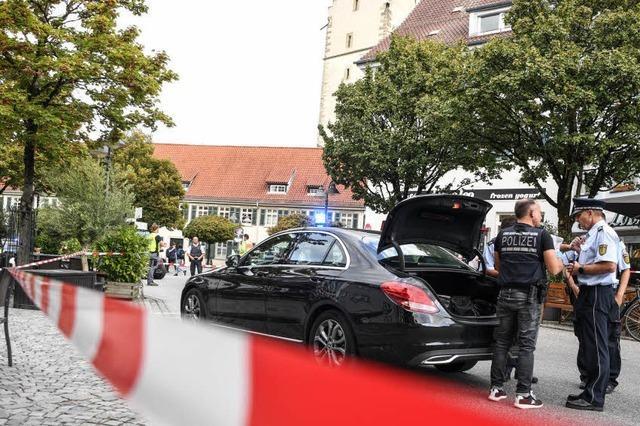 Mann nach Messerattacke in Ravensburg in Psychiatrie