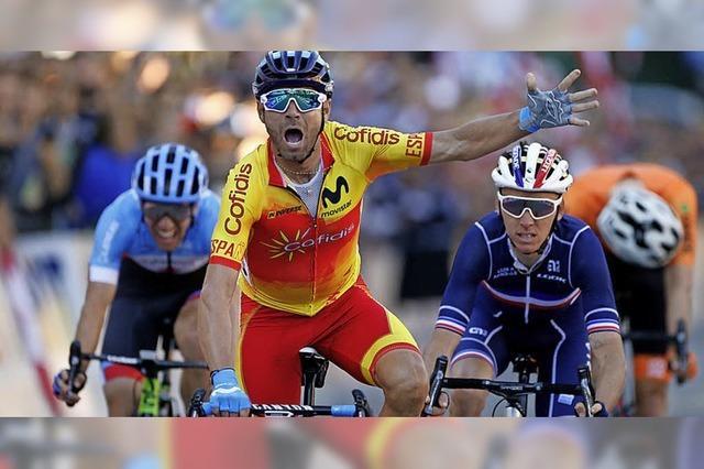 Ein 38-jähriger Spanier wird erstmals Rad-Weltmeister