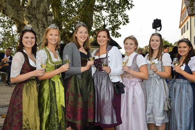 So geht es zu beim Offenburger Weinfest in der Ortenau – noch bis Montag