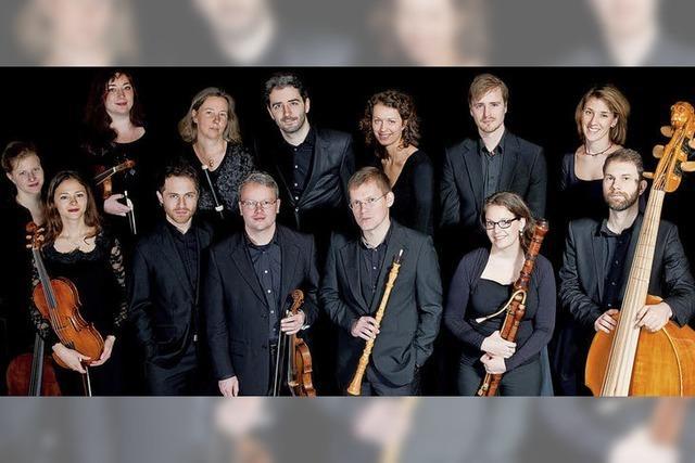 Die Chapelle de la Vigne präsentiert Bach in Freiburg und Waldkirch