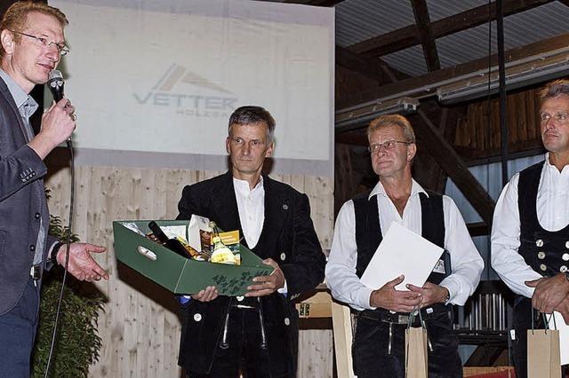 Holzbau Vetter feiert 60-jähriges Bestehen