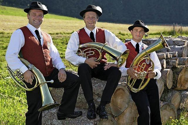 Männergesangverein Scholach, MV Dittishausen, Jugendkapelle der Stadtmusik Vöhrenbach in Eisenbach-Schollach