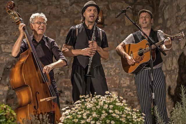 Trio Chotsch eröffnet am Sonntag, 7. Oktober, die Saison der Laufenburger Kulturkommission Die Brücke