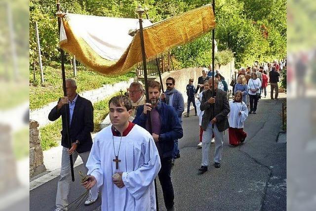 Istein feiert den Heiligen Michael