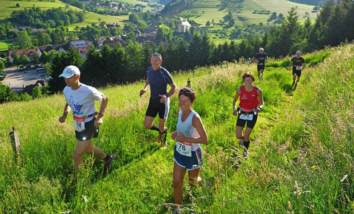 Panoramalauf im Rahmen des 2. Black Forest Trailrun.   | Foto: Archivfoto: Fleig