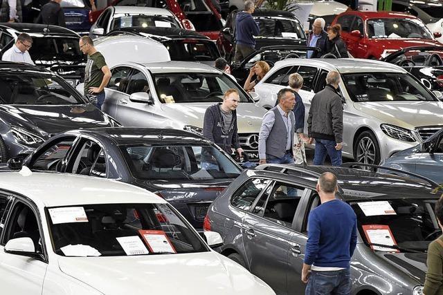Am Wochenende ist Südbadische Gebrauchtwagen-Verkaufsschau