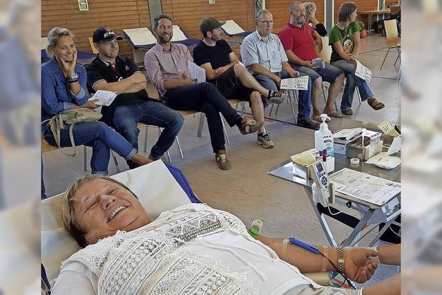 Zahl der Blutspender steigt