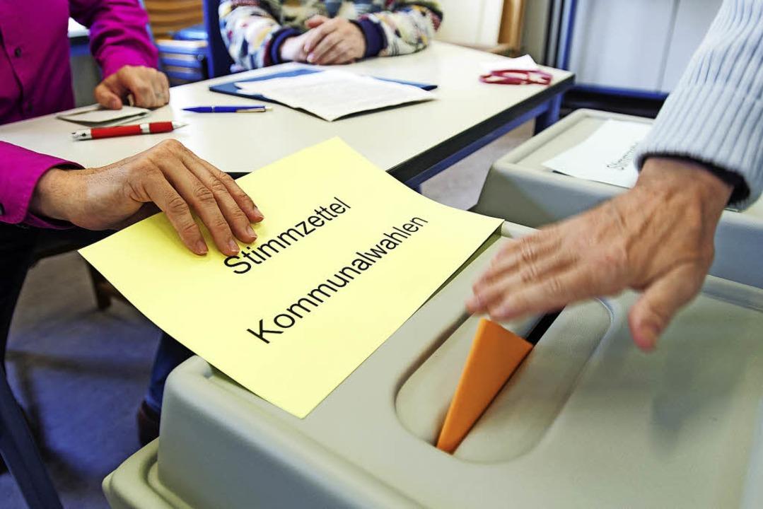 Bis zur Kommunalwahl im Mai dauert es ...te, Personen und die Wahlkampftaktik.   | Foto: dpa/Julius Steckmeister